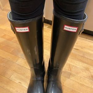 Hunter Boots Ladies size 8